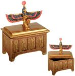 Ancient Egyptian Goddess Isis Jewelry Box