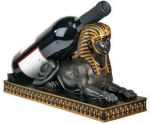 Ancient Egyptian Sphinx Wine Bottle Holder