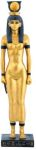 Ancient Egyptian Golden Goddess Hathor Statue