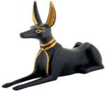 Ancient Egyptian Anubis Laying Down Statue