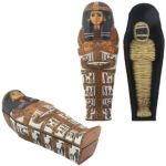 Ancient Egyptian Sarcophagus Of Henuttawy Box