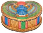 Ancient Egypt Winged Egyptian Scarab Jewelry Box