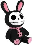 Furrybones Black Bun-bun Bunny Plush Toy