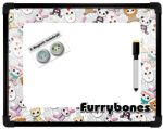 Furry Bones Magnet/message  Board