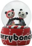 Furry Bones Pandie Love Water Globe