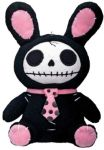 Furrybones Small Black Bun-bun Bunny Plush Toy