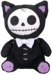 Furrybones Small Black Mao-mao Cat Plush Toy
