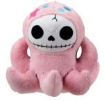 Furry Bones Small Octopee Octopus Plush Toy