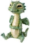 Green Baby Dragon Statue