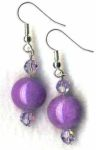 Lavender Vision Handmade Earrings