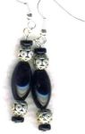 Midnight Princess Handmade Earrings