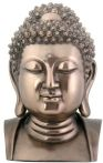 Head Of Buddha Statue - Bronze Finish