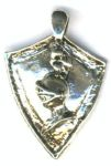 Knights Shield Celtic Jewelry Pendant