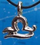Libra Zodiac Pendant - Sep 23 - Oct 23