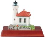 Lighthouse - Lime Kiln, Wa Statue