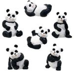 Panda Statues (Set of 6)