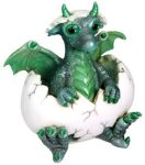 Phineas Baby Dragon Hatchling Figurine Statue