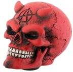 Red Devil Car Shift Knob