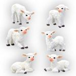 Sheep Statues (Set of 6)