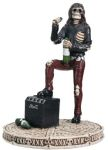 Skeleton Classic Rock Band - Singer Statue