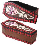 Day Of The Dead Skeleton Coffin Box