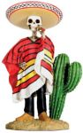 Day Of The Dead Bandito Skeleton Statue