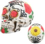 Day Of The Dead Tattoo Sugar Skull Statue