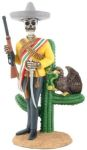 Day Of The Dead Zapata Skeleton Statue