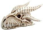 Small Dragon Skull Statue