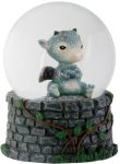 Sulky Dragon Waterglobe (65mm)
