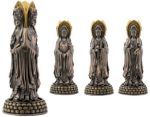 Three Sided Kuan Yin (guanyin) Statue