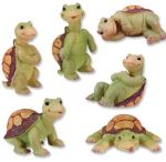 Turtle Statues (Set of 6)