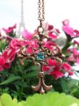Vespers Vintage Cross Necklace